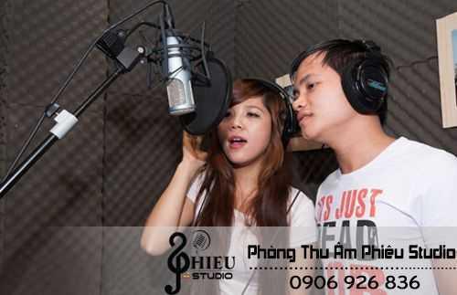 Phòng thu âm bài hát Phiêu Studio