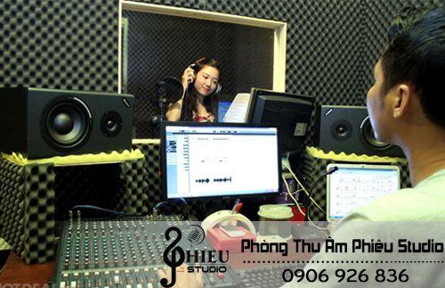 Phòng thu âm lồng tiếng chuyên nghiệp